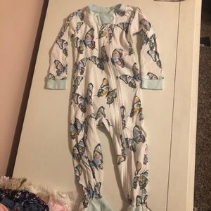 Burt's Bee Baby Butterfly Pajamas